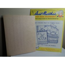 Aunt Martha's Hot Iron Transfers Patterns 3551