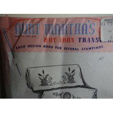 Aunt Martha's Hot Iron Transfers Patterns 3668