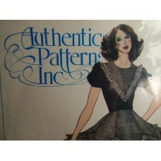 Authentic Pattern Inc Sewing Pattern 309
