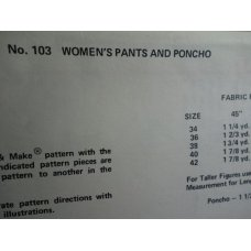 BASIC Sewing Pattern 103