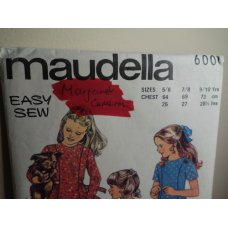 maudella Sewing Pattern 6001