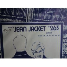 Men's Jean Jacket Sewing Patterns 263