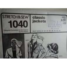 Stretch & Sew Sewing Pattern 1040