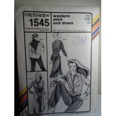 Stretch & Sew Sewing Pattern 1545