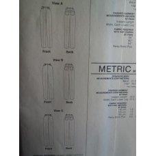Stretch & Sew Sewing Pattern 716