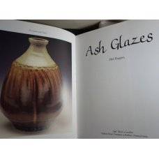 Ash Glazes by Phil Rogers.Hardcover