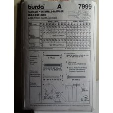 Burda Sewing Pattern 7999