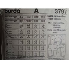 Burda Sewing Pattern 3797