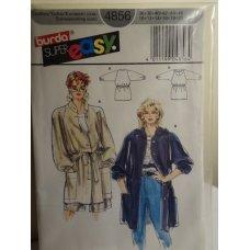 Burda Sewing Pattern 4856