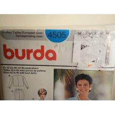 Burda Sewing Pattern 4505