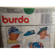 BURDA Sewing Pattern 4574