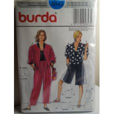 BURDA Sewing Pattern 4843
