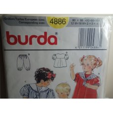 BURDA Sewing Pattern 4886