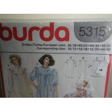 Burda Sewing Pattern 5315