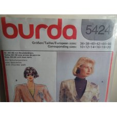 BURDA Sewing Pattern 5424