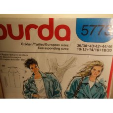 Burda Sewing Pattern 5773