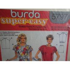 BURDA Sewing Pattern 5797