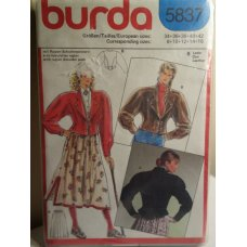 BURDA Sewing Pattern 5837