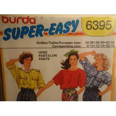 BURDA Sewing Pattern 6395