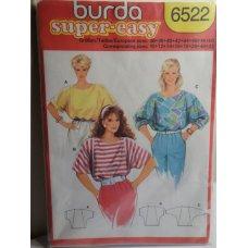 BURDA Sewing Pattern 6522