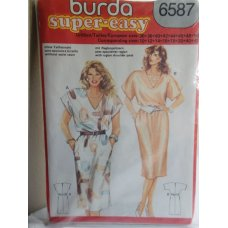 BURDA Sewing Pattern 6587