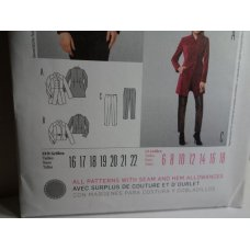 BURDA Sewing Pattern 7027