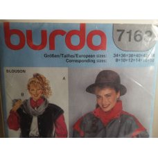 BURDA Sewing Pattern 7163