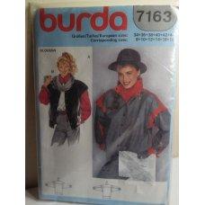 BURDA Sewing Pattern 7163