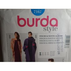 BURDA Sewing Pattern 7167