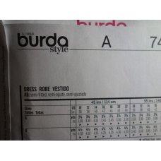 BURDA Sewing Pattern 7448