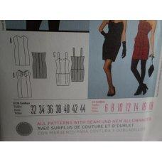 BURDA Sewing Pattern 7460