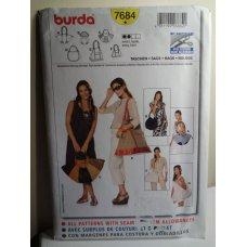 BURDA Sewing Pattern 7684