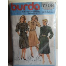 BURDA Sewing Pattern 7708