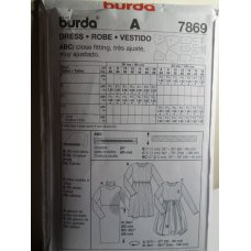 BURDA Sewing Pattern 7869
