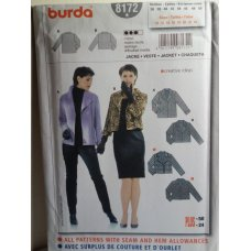 BURDA Sewing Pattern 8172