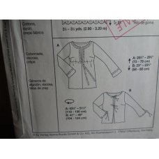 BURDA Sewing Pattern 8516