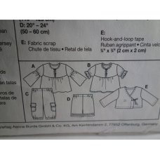BURDA Sewing Pattern 9645