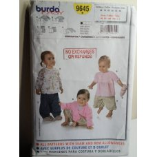 BURDA Sewing Pattern 9645