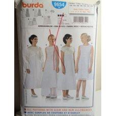 BURDA Sewing Pattern 9654
