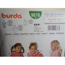 Burda Sewing Pattern 9676