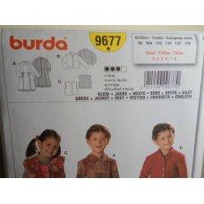 Burda Sewing Pattern 9677