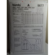 Burda Sewing Pattern 9677
