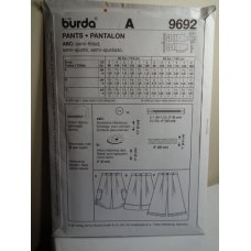 Burda Sewing Pattern 9692