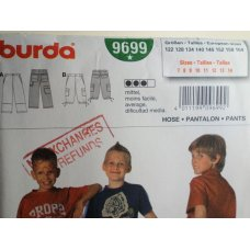 BURDA Sewing Pattern 9699