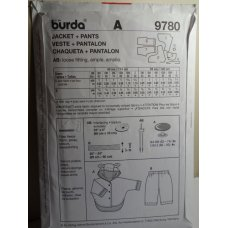 BURDA Sewing Pattern 9780