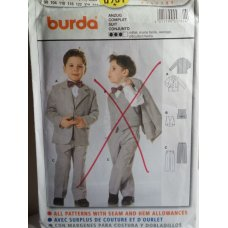 BURDA Sewing Pattern 9781