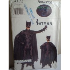 Butterick BATMAN Sewing Pattern 4172
