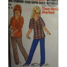 Butterick Marie Osmond Sewing Pattern 6654