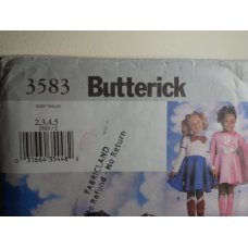 Butterick Sewing Pattern 3583