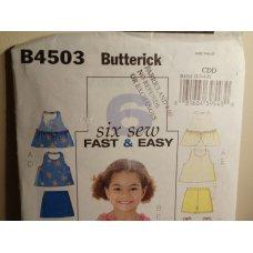 Butterick Sewing Pattern 4503